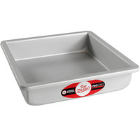 Fat Daddio's PSQ-882 ProSeries 8 inch x 8 inch x 2 inch Square Anodized Aluminum Straight Sided Cake Pan