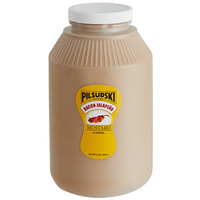 Pilsudski 1 Gallon Bacon Jalapeno Mustard   - 4/Case