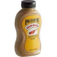 Pilsudski 12 oz. Bacon Jalapeno Mustard Squeeze Bottle   - 12/Case