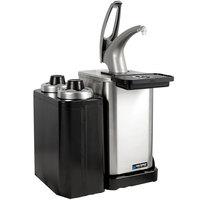 San Jamar MODP4900CC FrontLine Modular Condiment Dispenser Pump with Portion Cup Dispenser