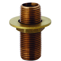 T&S B-0426 Supply Nipple Unit - 3 3/8 inch Long with 1/2 inch NPT Ends
