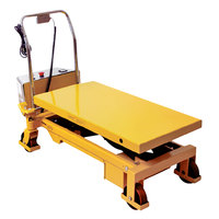Wesco Industrial Products 273712 20 inch x 40 inch Powered Scissors Lift Table, 1650 lb. 17 inch - 40 inch Lift