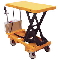 Wesco Industrial Products 273711 20 inch x 40 inch Powered Scissors Lift Table, 1100 lb. 17 inch - 40 inch Lift