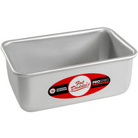 Fat Daddio's BP-5641 ProSeries 3/4 lb. Anodized Aluminum Bread Loaf Pan - 6 3/8 inch x 3 3/4 inch x 2 3/4 inch