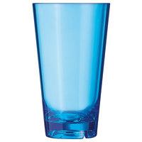 Arcoroc FM403 Outdoor Perfect 19.75 oz. Blue SAN Plastic Cooler Glass by Arc Cardinal   - 36/Case