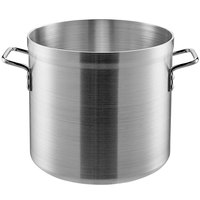 Carlisle 61220 20 Qt. Standard Weight Aluminum Stock Pot