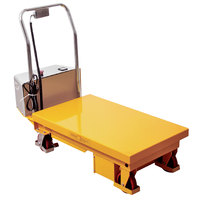 Wesco Industrial Products 273710 24 inch x 36 inch Powered Scissors Lift Table, 660 lb. 11 inch - 34 inch Lift