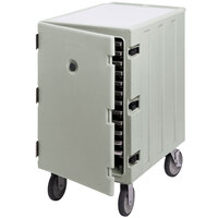 Cambro 1826LTC180 Camcart Light Gray Mobile Cart for 18 inch x 26 inch Sheet Pans and Trays