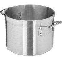 Carlisle 61210 10 Qt. Standard Weight Aluminum Stock Pot