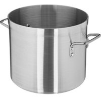 Carlisle 61212 12 Qt. Standard Weight Aluminum Stock Pot