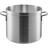 Carlisle 61224 24 Qt. Standard Weight Aluminum Stock Pot