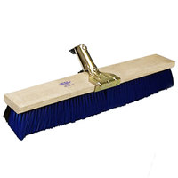 Carlisle 4187000 Omni Sweep 18 inch Hardwood Push Broom Head with Polypropylene Bristle Blend and Anchor Attachment