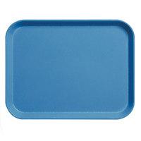 Cambro 3253CL142 Camlite 13 inch x 21 inch Blue Tray - 12/Case