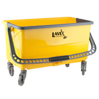 Lavex Janitorial 44 Qt. No-Touch Microfiber Mop Bucket