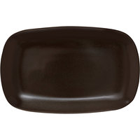 Corona by GET Enterprises PP1942917612 Cosmos 13 7/16 inch x 8 1/4 inch Mercury Coupe Platter   - 12/Case