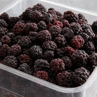 30 lb. IQF Whole Blackberries