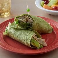 Father Sam's Bakery 12-Count 10 inch Garden Spinach Tortilla Wraps   - 12/Case