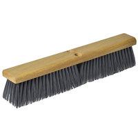 Continental F002036 36 inch Hardwood Push Broom Head with Flagged Polypropylene Bristles