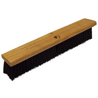 Continental F007018 18 inch Hardwood Push Broom Head with Polypropylene Bristles