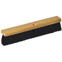 Continental F006024 24 inch Hardwood Push Broom Head with Tampico Bristles