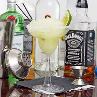 Fineline Flairware 2312-CL 12 oz. Plastic Margarita with Clear Base - 144/Case