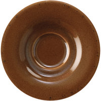 Corona by GET Enterprises PP1943900324 Cosmos 6 1/2 inch Venus Tea / Bouillon Saucer   - 24/Case