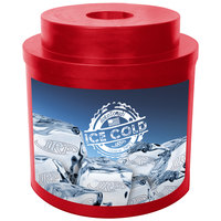 Red Super Cooler I 010 Keg / Beverage Cooler