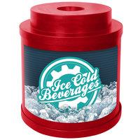 IRP Red Super Cooler I 3001034 Keg / Beverage Cooler