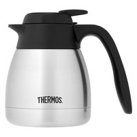 Thermos TGS06SC 20 oz. Stainless Steel Vacuum Insulated Carafe - Push Button