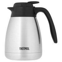 Thermos TGS10SC 1 Liter Stainless Steel Vacuum Insulated Carafe - Push Button