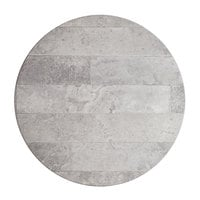 Lancaster Table & Seating Excalibur 32 inch Round Table Top with Textured Toscano Finish