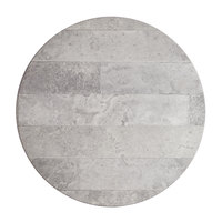 Lancaster Table & Seating Excalibur 24 inch Round Table Top with Textured Toscano Finish
