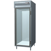 Delfield SAR1N-G Stainless Steel 21 Cu. Ft. One Section Glass Door Narrow Reach In Refrigerator - Specification Line