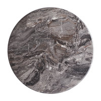 Lancaster Table & Seating Excalibur 24 inch Round Table Top with Smooth Paladina Finish