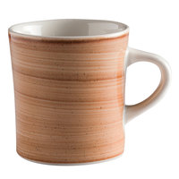 Corona by GET Enterprises PP1606726424 Artisan 11 oz. Brown Porcelain Mug - 24/Case