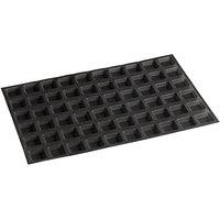 Sasa Demarle Flexipan Air® SF-1106 Silicone 60 Compartment Mini-Square Bread Mold - 1 3/4 inch x 1 3/4 inch x 9/16 inch Cavities