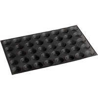 Sasa Demarle Flexipan® Air SF-01066 Silicone 40 Compartment Mini Tartlets Mold - 2 1/4 inch Diameter Cavities