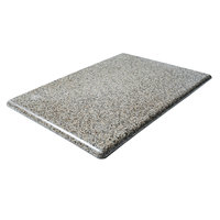 Commercial Zone 7210204 Riverstone Replacement Panels for 42 Gallon StoneTec Waste and Recycling Containers - 4/Pack