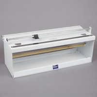 Bulman A550-18 18 inch White Counter Mount Food Wrap Film Dispenser