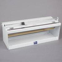 Bulman A550-18 18 inch White Counter Mount Food Wrap Film Dispenser