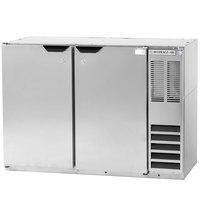 Beverage-Air BB48HC-1-S-WINE 48 inch Stainless Steel Back Bar Wine Refrigerator