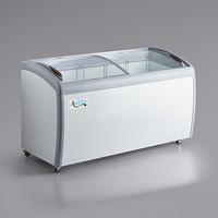 Avantco DFC16-HCL 60 inch Curved Top Display Ice Cream Freezer
