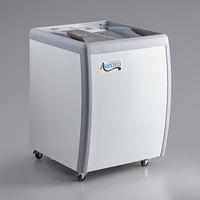 Avantco DFF6-HCL 26 1/4 inch Flat Top Display Ice Cream Freezer
