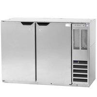 Beverage-Air BB48HC-1-PT-S 48 inch Stainless Steel Pass-Through Back Bar Refrigerator