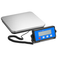 Avaweigh RS110LP 110 lb. Low-Profile Digital Receiving Scale with Remote Display