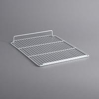 Avantco 178SHLFGDS33 White Coated Wire Shelf for GDS33 Refrigerators - 17 5/16 inch x 22 inch