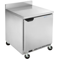 Beverage-Air WTF24AHC-FIP 24 inch Worktop Freezer with 4 inch Foamed-in-Place Backsplash