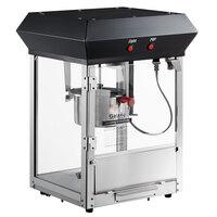Galaxy 4 oz. Black Popcorn Machine / Popper - 120V