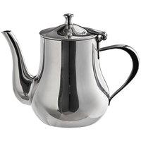 World Tableware CT-805 Belle 24 oz. Stainless Steel Tea Pot