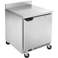 Beverage-Air WTF32AHC-FIP 32 inch Worktop Freezer with 4 inch Foamed-in-Place Backsplash